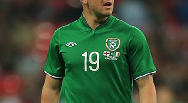 Simon Cox could be asked to play out of position for Ireland