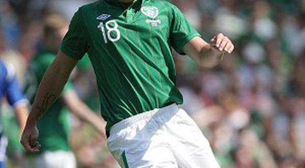 Darren O'Dea, pictured, says he is ready to step in for Richard Dunne