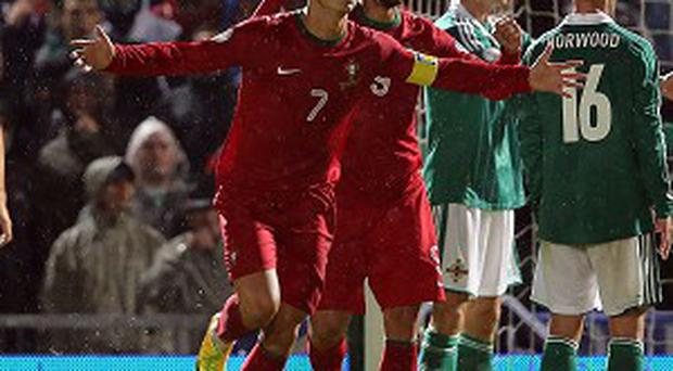 Cristiano Ronaldo dug Portugal out of a hole against Northern Ireland