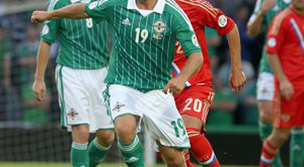Jamie Ward is a doubt for Northern Ireland