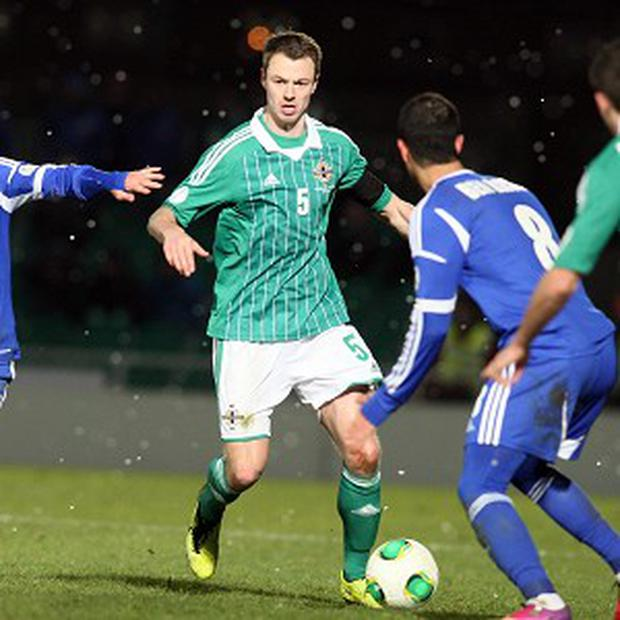Jonny Evans is looking forward to the Euro 2016 qualifying campaign