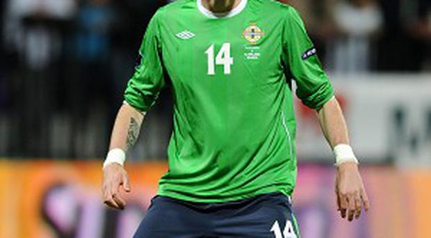 Kyle Lafferty will not feature against Luxembourg after being sent off against Portugal