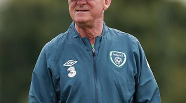 Giovanni Trapattoni became Ireland manager in 2008