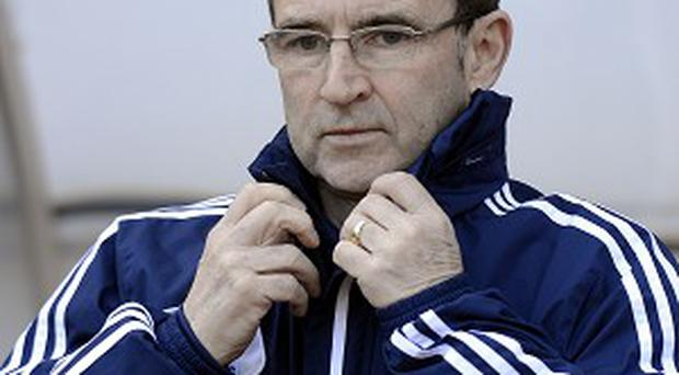 Martin O'Neill, pictured, is the bookmakers' favourite to succeed Giovanni Trapattoni is Ireland manager