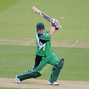 Paul Stirling in action for Ireland