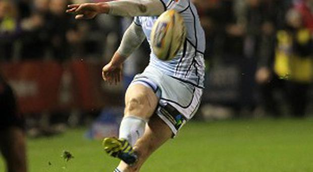 Rhys Patchell kicked all of Cardiff's points