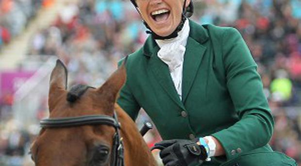 Aoife Clark took the £8,000 winner's purse in Oxfordshire