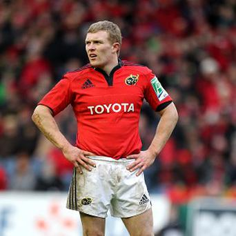 Keith Earls scored one of Munster's tries