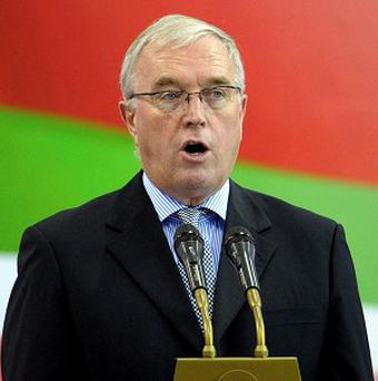Pat McQuaid needs at least 22 votes to be re-elected
