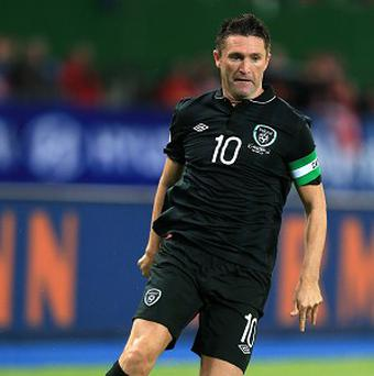 Robbie Keane is a doubt for Friday's match in Cologne