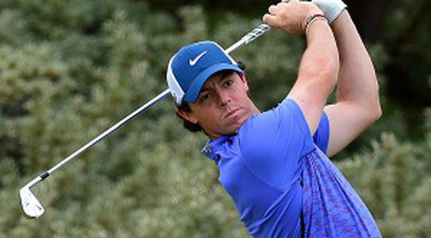 Rory McIlroy carded a 70 in his opening round in South Korea.