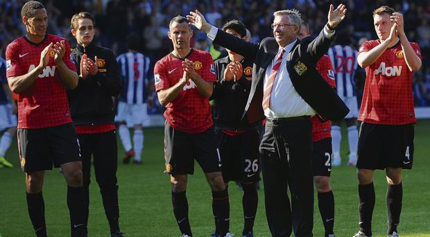 Alex Ferguson's last match in charge of United