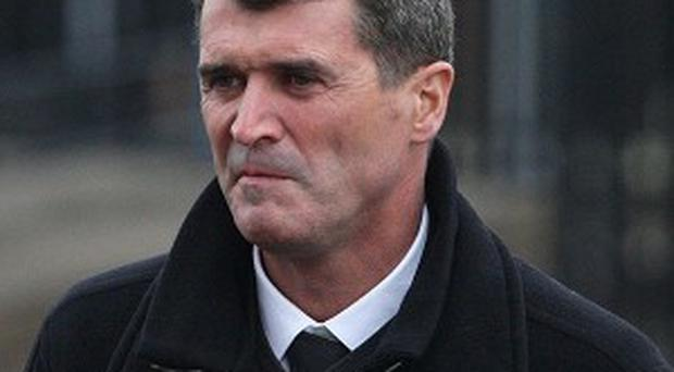 Roy Keane, pictured, is set to be Martin O'Neill's assistant at Ireland