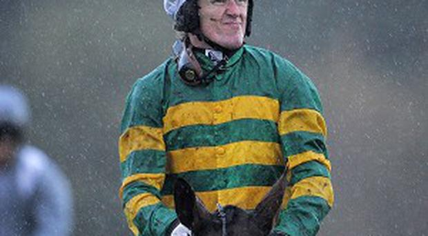Tony McCoy partnered My Tent or Yours to success today