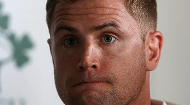 Jamie Heaslip is unconcerned about not being named Ireland captain