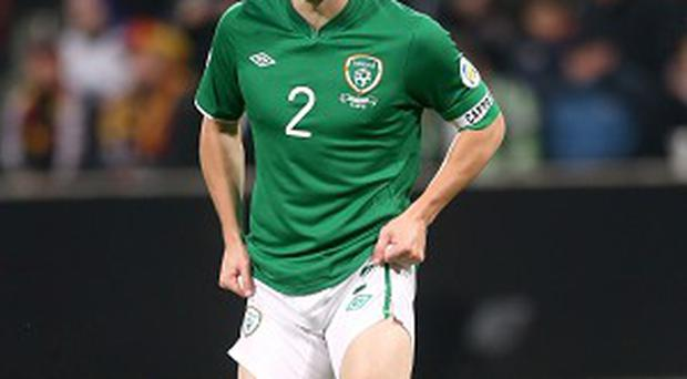 Seamus Coleman, pictured, hopes to avoid being on the receiving end of a Roy Keane ear-bashing