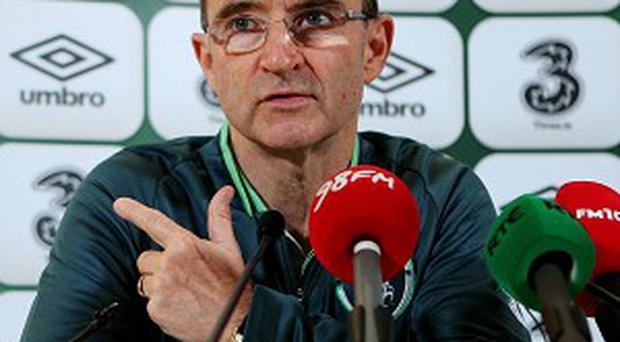 Martin O'Neill takes charge of Ireland for the first time on Friday night