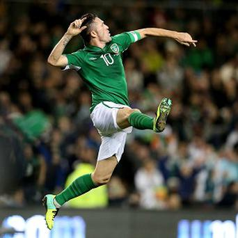 Robbie Keane has scored 62 goals in 131 appearances for Ireland