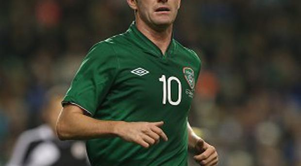 Robbie Keane has an Achilles problem