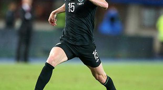 Paul Green played the full 90 minutes against Latvia
