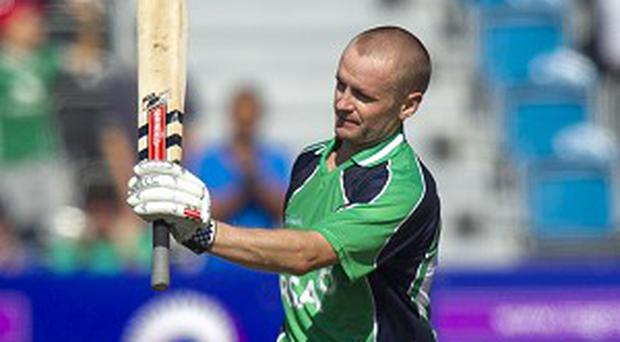 Ireland captain William Porterfield was frustrated by the weather.