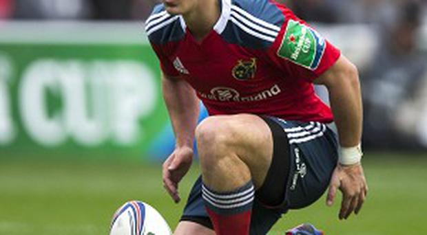 Ian Keatley slotted six penalties to win the match for Munster