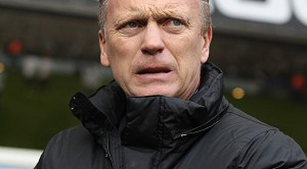 David Moyes, pictured, worked with David Healy at Preston