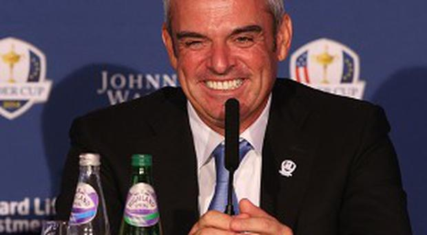 Paul McGinley will lead the European team when they face the United States in next year's Ryder Cup at Gleneagles