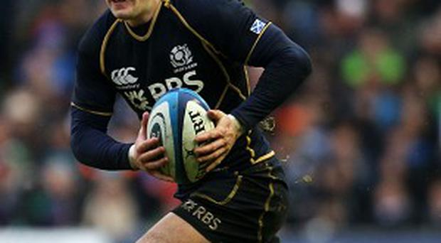Stuart Hogg, pictured, will run Ireland ragged if given time and space, according to Ireland assistant coach Les Kiss