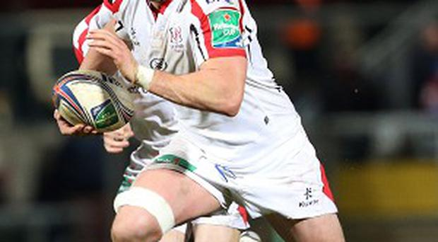 Ulster's Dan Tuohy, right, believes Wales will offer Ireland a realistic RBS 6 Nations yardstick