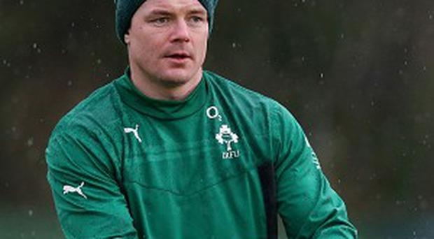 Ireland's evergreen centre Brian O'Driscoll is in vintage form, according to boss Joe Schmidt