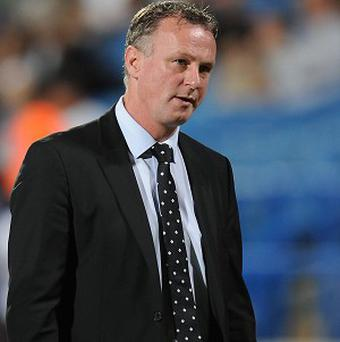 Michael O'Neill's Northern Ireland side will take on Cyprus next week