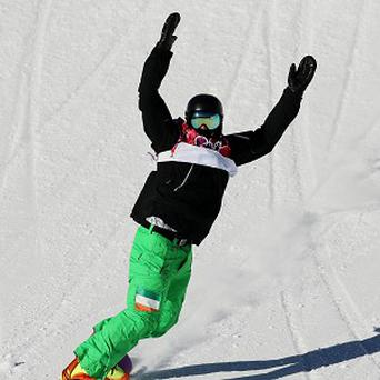 Ireland's Seamus O'Connor was delighted with his efforts in the snowboard slopestyle semi-final.