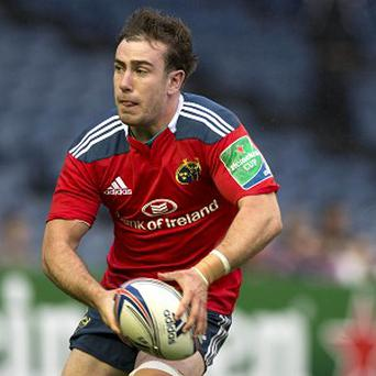 Munster's JJ Hanrahan has been named at out-half for Ireland's clash with Uruguay