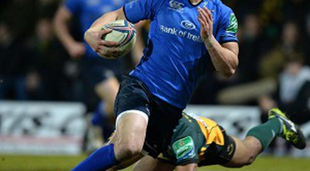 Zane Kirchner scored one of Leinster's four tries