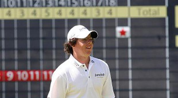 Rory McIlroy on his previous visit to the Scottish Open in 2009.