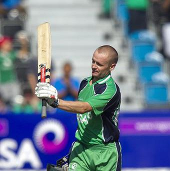 William Porterfield's Ireland fell short in their pursuit of a victory target of 97