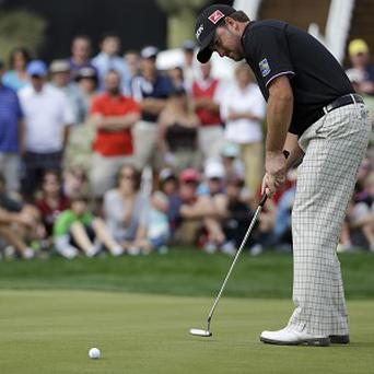 Graeme McDowell, pictured, defeated Hunter Mahan at the WGC-Accenture Match Play Championship (AP)