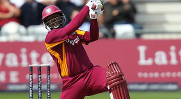 Dwayne Smith scored 55 runs as the West Indies beat Ireland in Kingston