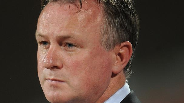 Michael O'Neill's Northern Ireland side are due to play in Cyprus on Wednesday