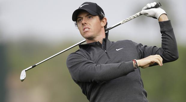 Rory McIlroy led the way at the halfway stage of the Honda Classic (AP)