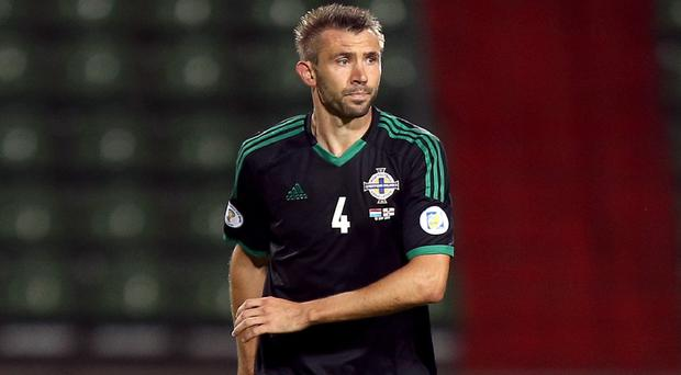 Gareth McAuley has no complaints about his red card against Cyprus