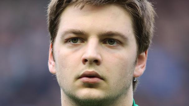 Iain Henderson will start at blindside flanker for Ireland
