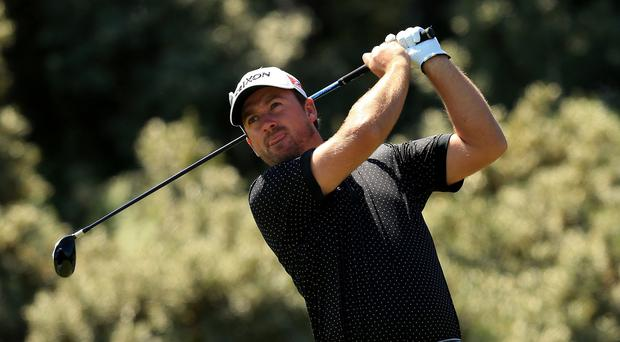 Graeme McDowell was one of just three players to make up ground in the second round at Doral.