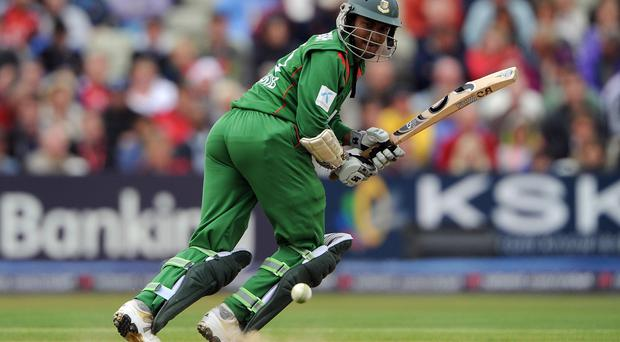 Shakib Al Hasan scored 58 and picked up two wickets for Bangladesh