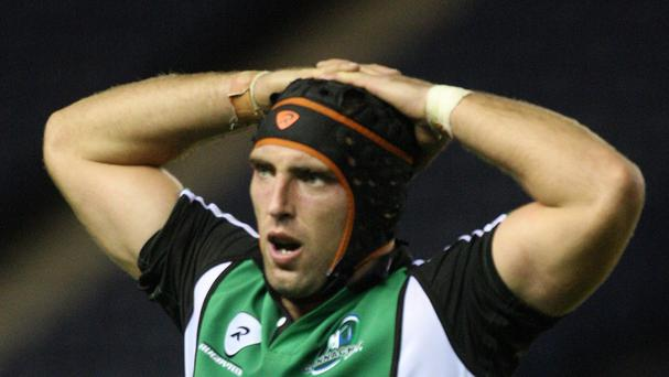 John Muldoon went over for a pair of Connacht tries