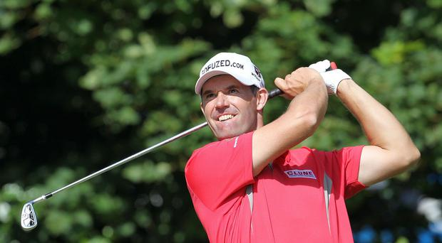 Irish golfer Padraig Harrington admits that he is unnerved when people with poor hygiene try to shake his hands in public restrooms.
