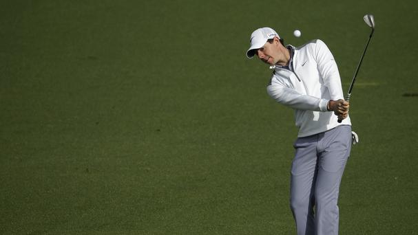 Rory McIlroy wants to improve upon his previous best finish of 15th at Augusta (AP)