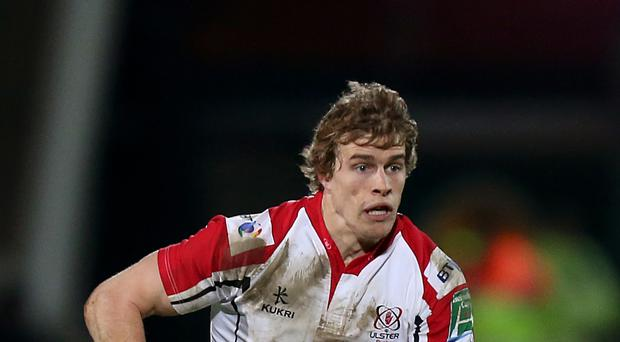Andrew Trimble scored a hat-trick for Ulster