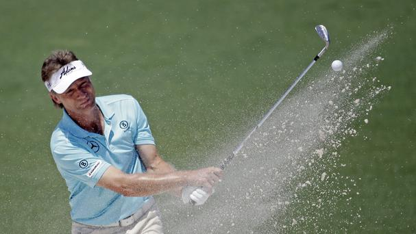 Bernhard Langer made a strong start to his final round (AP)
